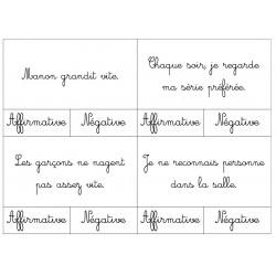 Forme de phrases