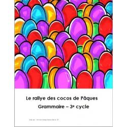 Rallye de cocos de Pâques!