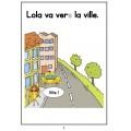 Livre de lecture - la vie de Lola