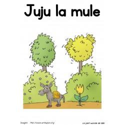 Livre de lecture - Juju la mule