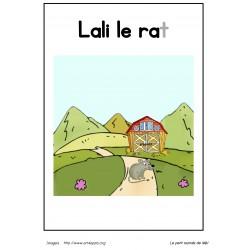Livre de lecture - Lali le rat