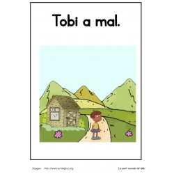Livre de lecture - Tobi a mal