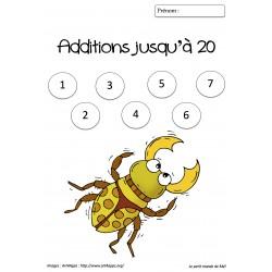 Additions jusqu'à 20 - Dossier 1
