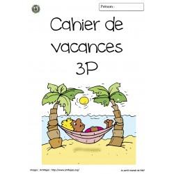 cahier de vacances - 3P