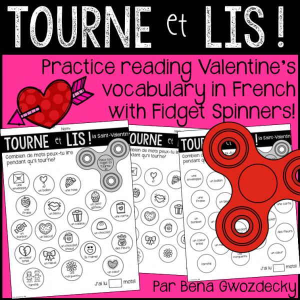 {Tourne et Lis! la Saint-Valentin} Jeu de lecture