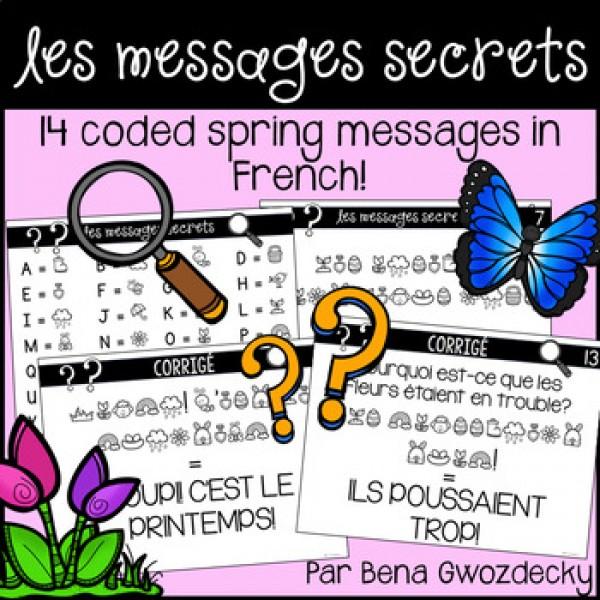 {Les Messages Secrets: Le printemps!}