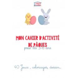 Cahier d'activité - Pâques - 3-6 ans
