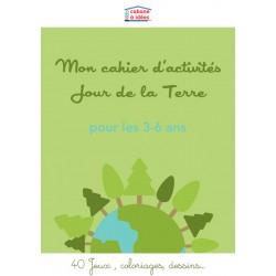 Cahier d'activités Jour de la Terre - 3-6 ans