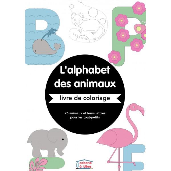 Coloriage alphabet des animaux