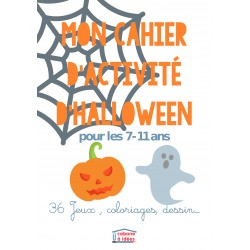 Cahier d'activités Halloween - 7-11 ans