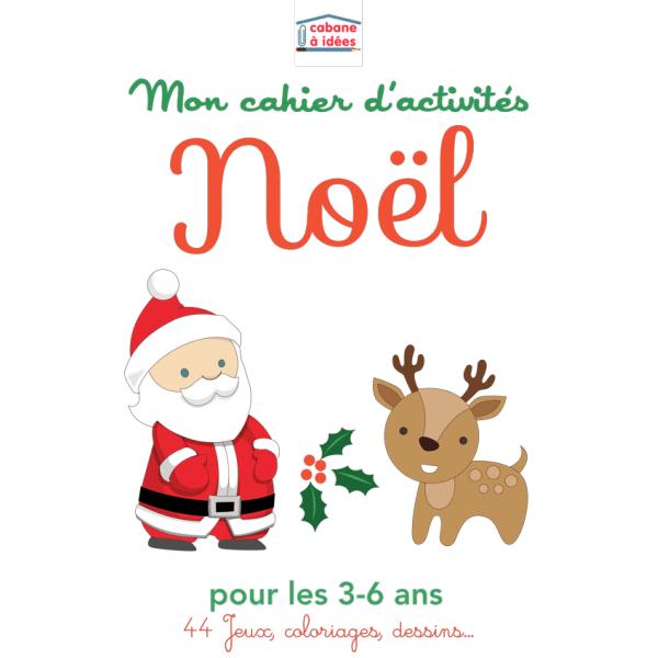 Cahier d'activités - Noël - 3-6 ans