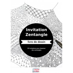 Invitation zentangle