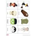 Cartes nomenclature Halloween Français + Anglais