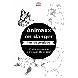 Coloriage Animaux en danger
