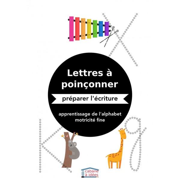Poinçonnage lettres de l'alphabet