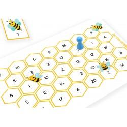 Jeu des abeilles (apprendre les nombres de 1 à 20)