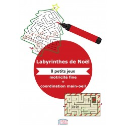 Labyrinthes de Noël