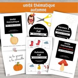 Unité automne (pack d'activités)