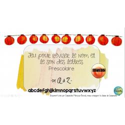 révision lettres de l'alphabet