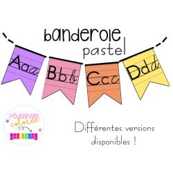 Banderole alphabet
