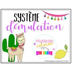 Système d'émulation - Llamas Cactus Citron
