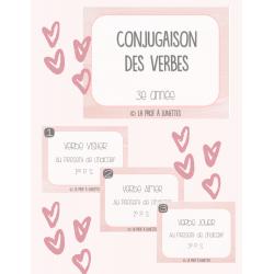 Cartes à tâches - Conjugaison de verbes