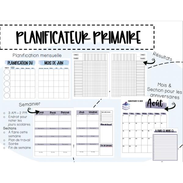 2021-2022 Planificateur primaire 3AM-2PM