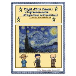 Projet d'arts: Impressionnisme