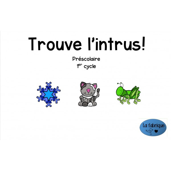 Trouve l'intrus!