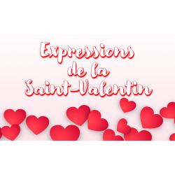Expression de la Saint-Valentin