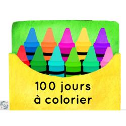 100 jours à colorier