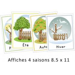 Affiches saisons