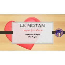 Le notan version St-Valentin