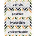 Vocabulaire de probabilité