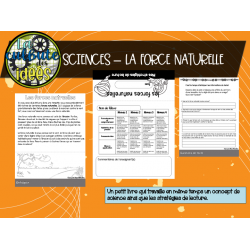 BUNDLE Sciences - les forces et les mouvements
