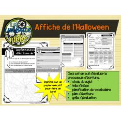 Une affiche d'Halloween