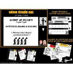 Évade-toi - inférence (3 en 1) stratégie lecture