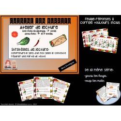 Cuisine ton burrito - 2 Stratégies lecture!