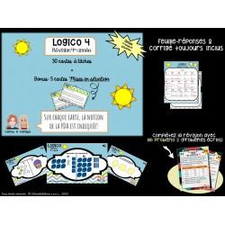 Logico 4 -Révision annuelle, 4e année