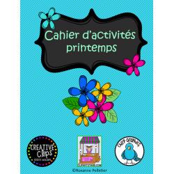 Cahier d'activités printemps