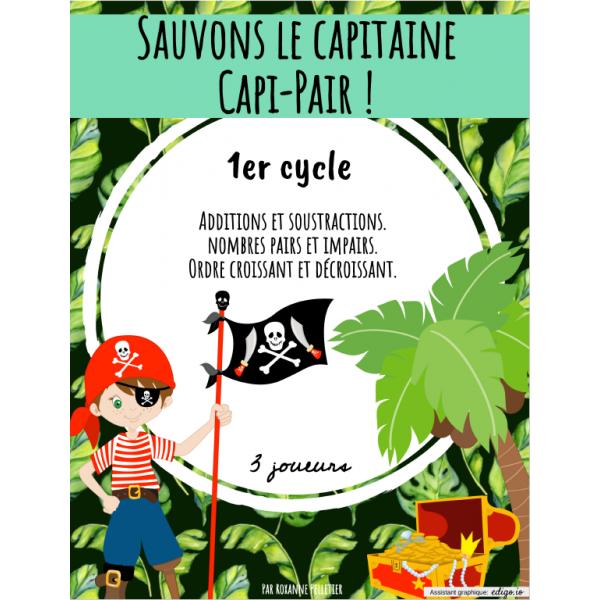 Sauvons le capitaine Capi-Pair !