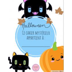 Cahier halloween