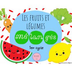 Les fruits et légumes mélangés