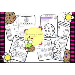Cahier préscolaire / école ou maison