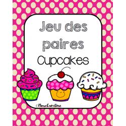 Jeu des paires cupcakes