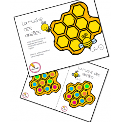 La ruche des abeilles
