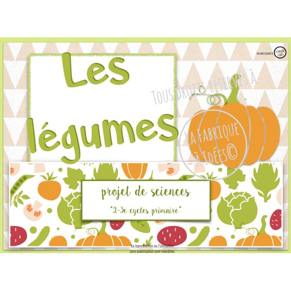 Sciences: les légumes 2e-3e cycles