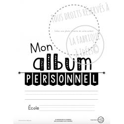 Album personnel 1re année