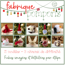 Fabrique de pompons - 10 figurines