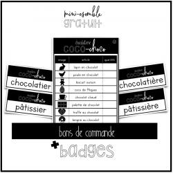 chocolaterie - jeu symbolique